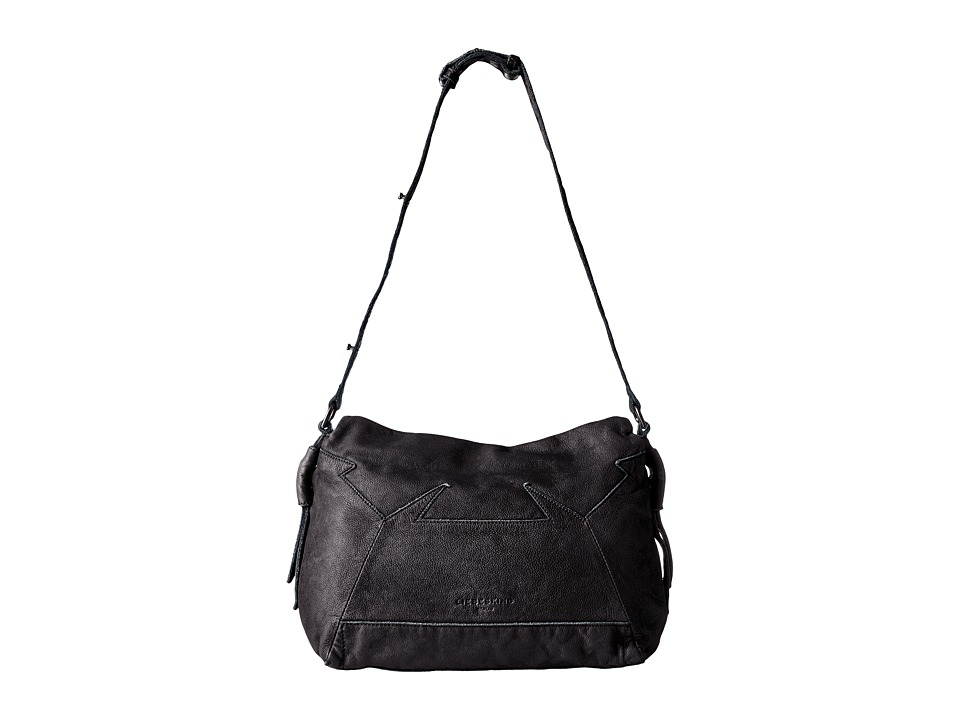 Liebeskind - Linia Double-Dye Shoulder Bag (Nairobi Black) Shoulder Handbags