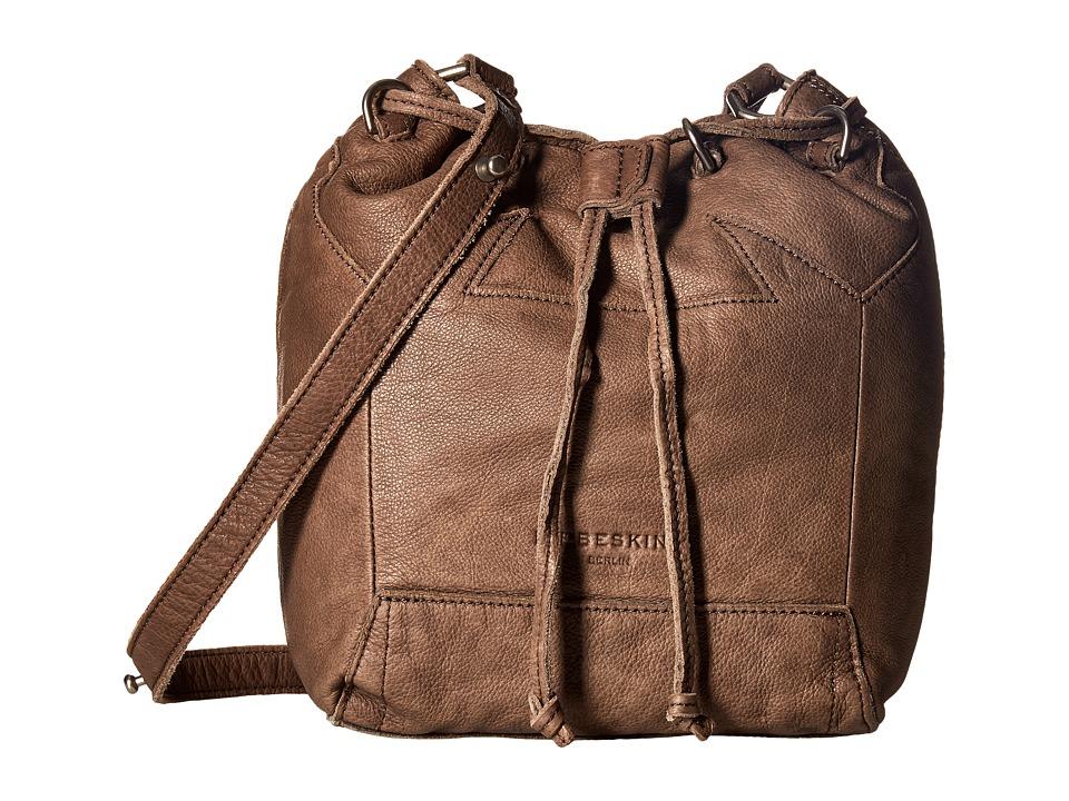 Liebeskind - Kandi Double-Dye Bucket (Rhino Brown) Handbags