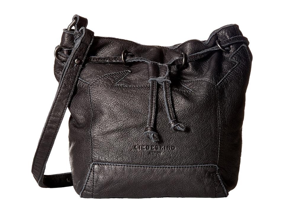 Liebeskind - Kandi Double-Dye Bucket (Nairobi Black) Handbags