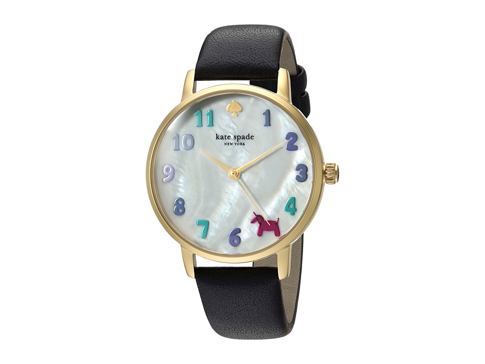 Kate Spade New York - Metro - KSW1252 (Gold/Black) Watches