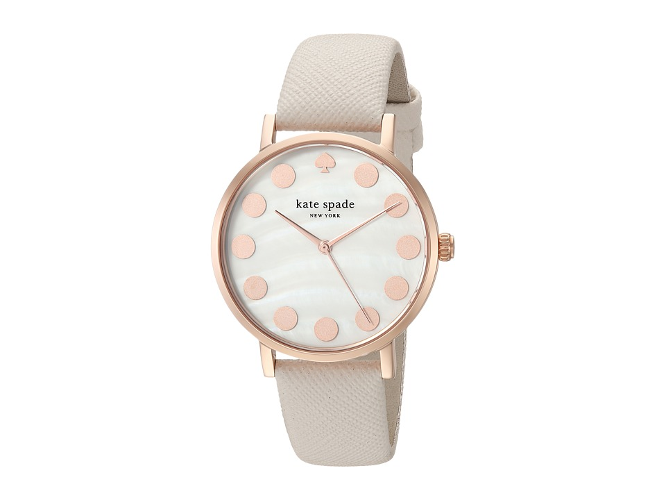 Kate Spade New York - Dot - 1YRU0734 (Rose Gold/Taupe) Watches