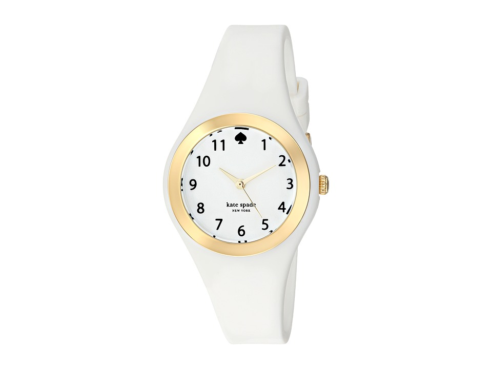 Kate Spade New York - Rumsey - 1YRU0793 (Gold/White) Watches
