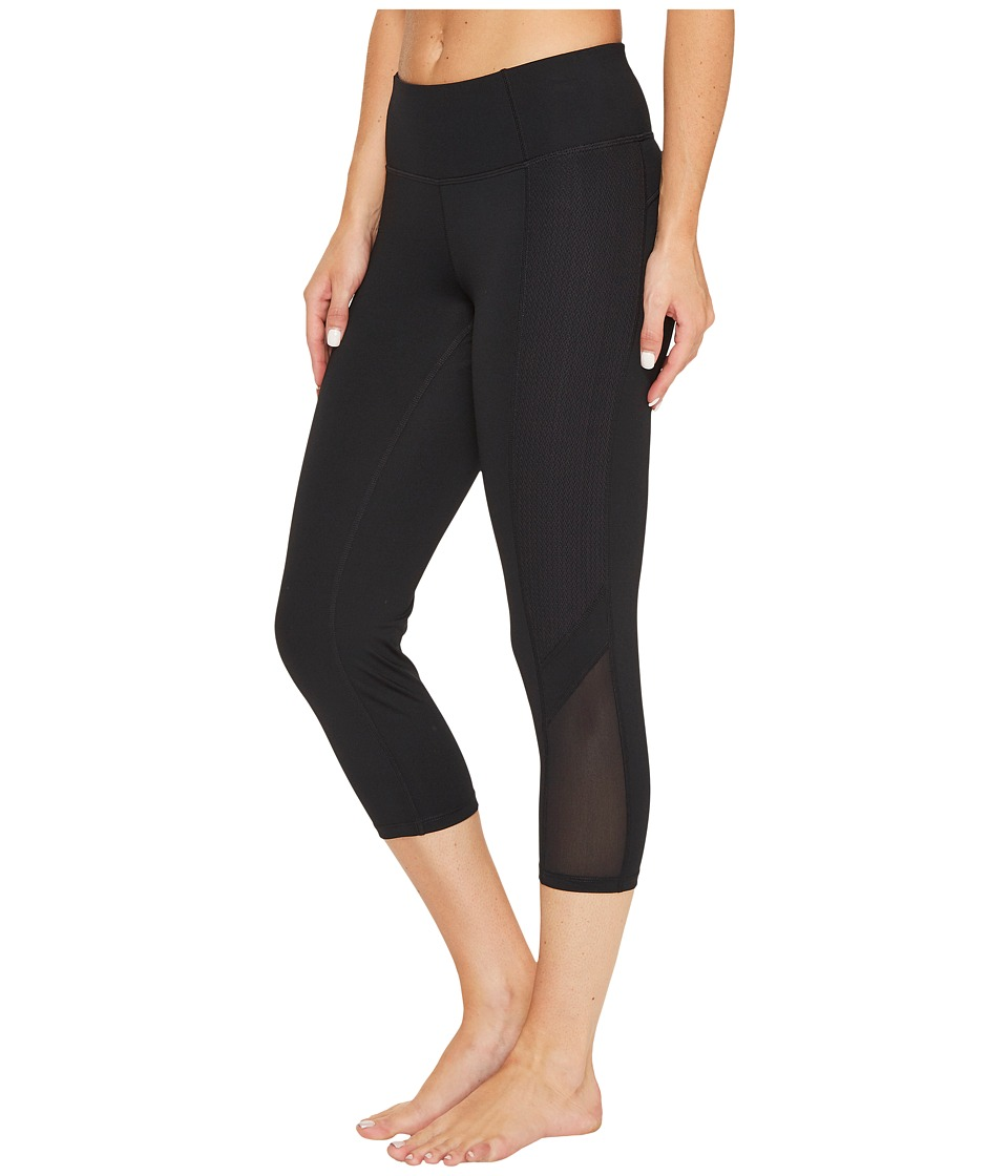 Ivanka Trump - Active Crop Leggings (Black) Women's Casual Pants