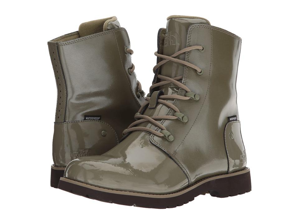 The North Face Ballard Rain Boot (Burnt Olive Green/Tumbleweed Green) Women