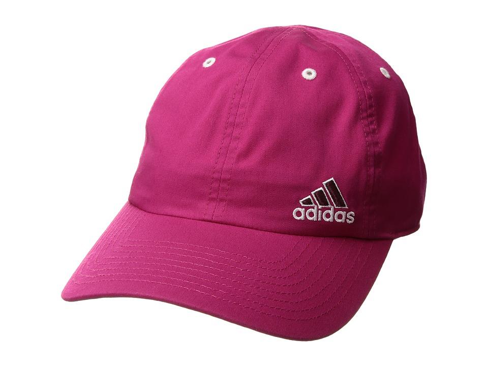 adidas - Squad Cap (Bold Pink/Maroon/White) Caps