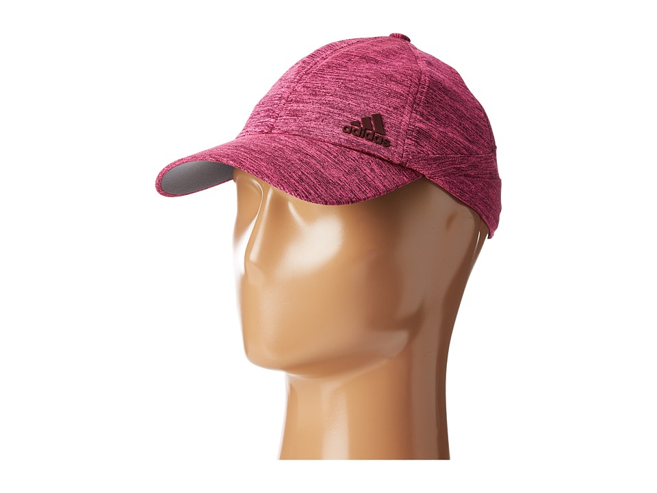adidas - Studio Cap (Maroon/Shock Pink Heather) Caps