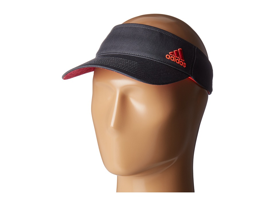 adidas - Squad Visor (Deepest Space/Bold Pink/Flash Red Poison Ivy Print) Casual Visor