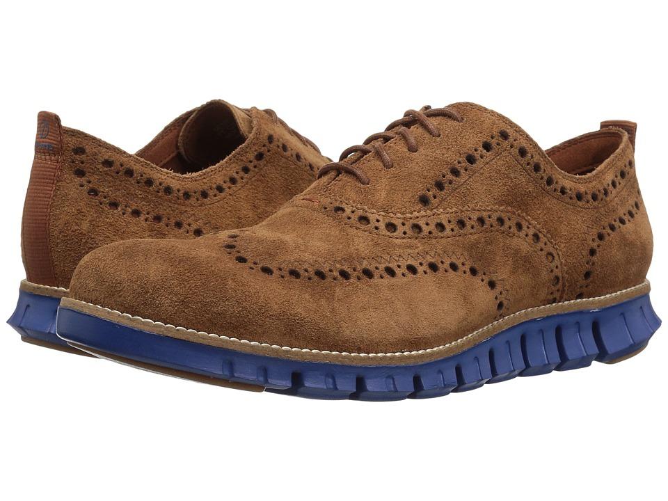 Cole Haan - Zerogrand Wing Ox II (Bourbon/Limoges) Men's Shoes