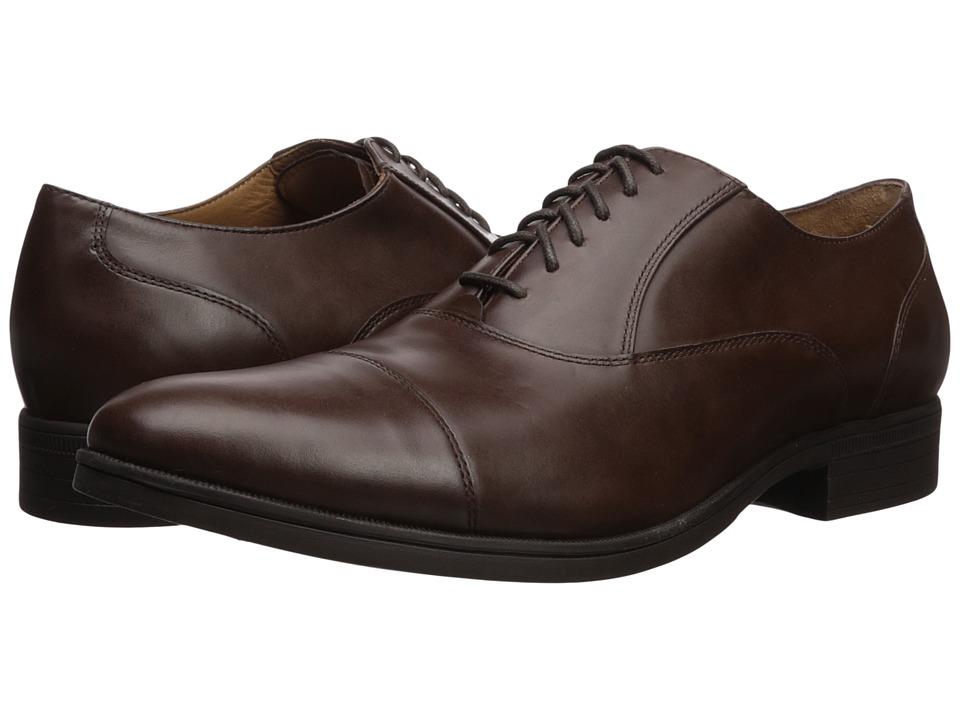Cole Haan - Madison Wp Cap Ox II (Chestnut Waterproof) Men's Shoes