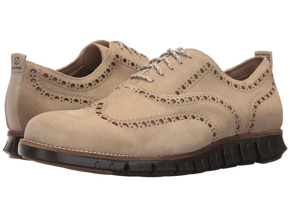 Cole Haan - Zerogrand Wing Ox II (Barley/Dark Roast) Men's Shoes