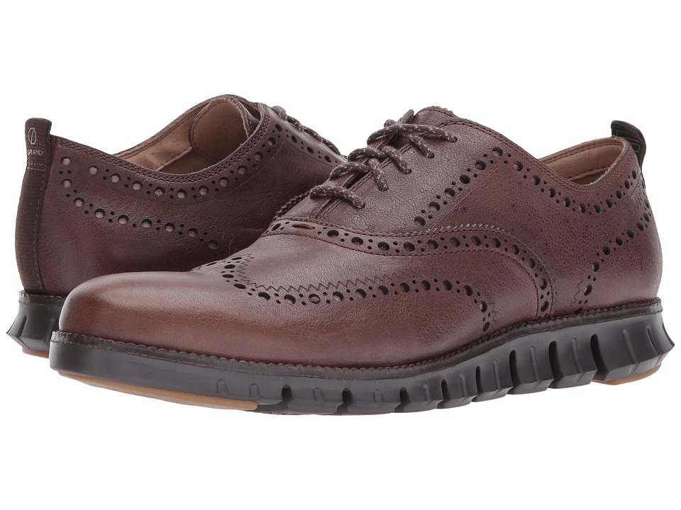 Cole Haan - Zerogrand Wing Ox II (Java/Dark Roast) Men's Shoes