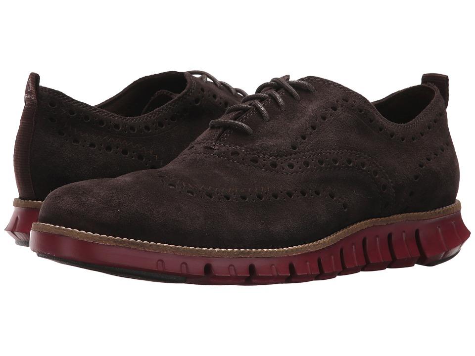 Cole Haan - Zerogrand Wing Ox II (Dark Roast/Tomato) Men's Shoes