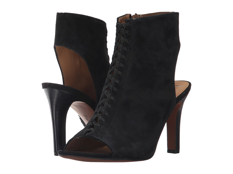 Franco Sarto - Quimby (Black Suede) Women's Shoes