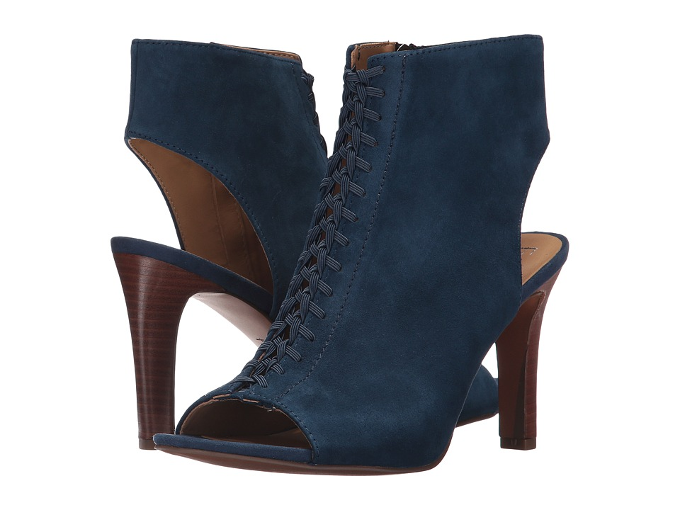 Franco Sarto - Quimby (Lapis Blue Suede) Women's Shoes