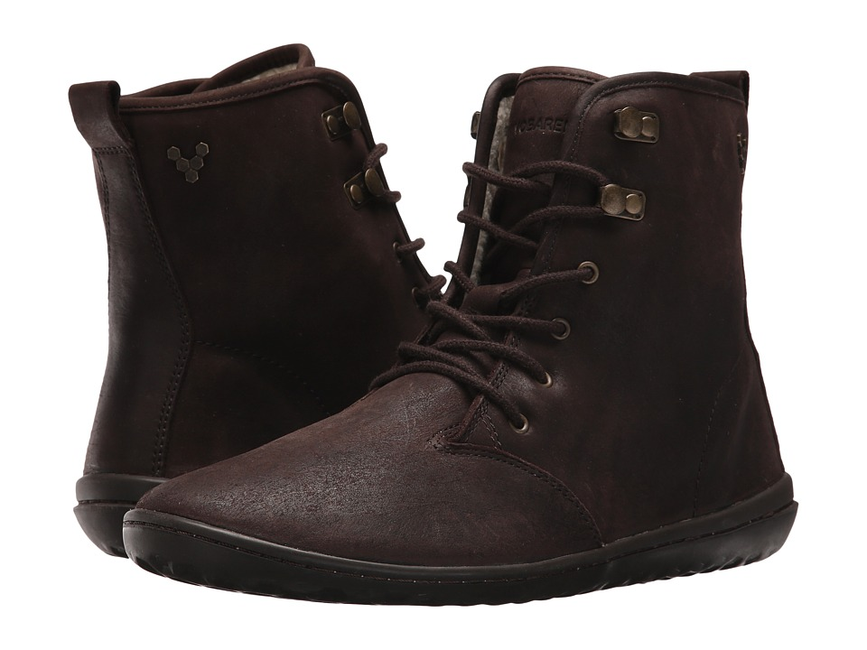 Vivobarefoot Gobi Hi-Top Leather (Dark Brown) Women