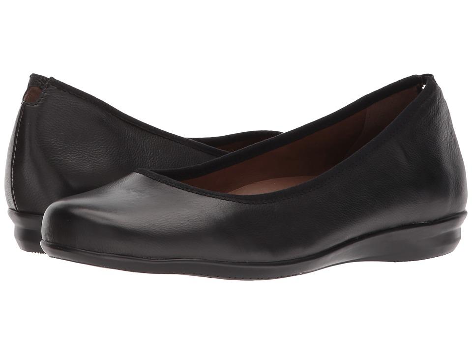 Earth Ennis Earthies (Black Premium Leather) Women