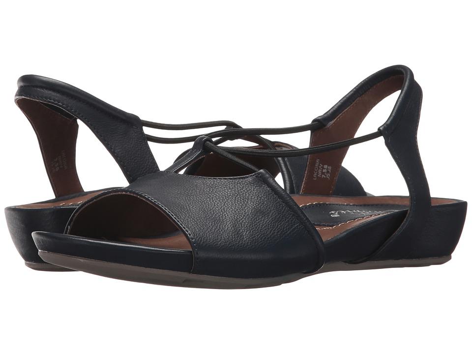 Earth Lacona Earthies (Navy Premium Soft Leather) Women