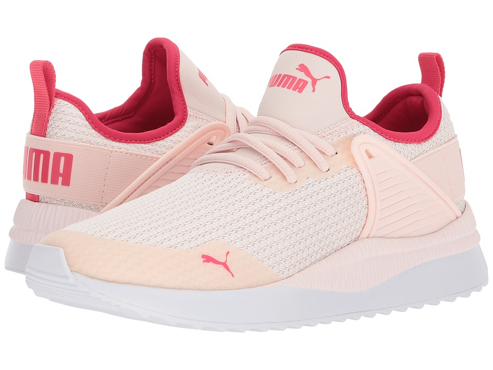 Puma Kids Pacer Next Cage GK (Big Kid) (Pearl/Pearl) Girls Shoes