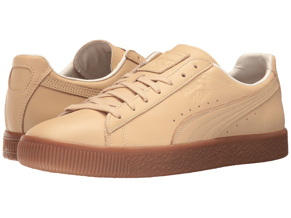 PUMA - Puma x Naturel Clyde Vegetable Tan Leather Sneaker (Natural Vachetta) Shoes
