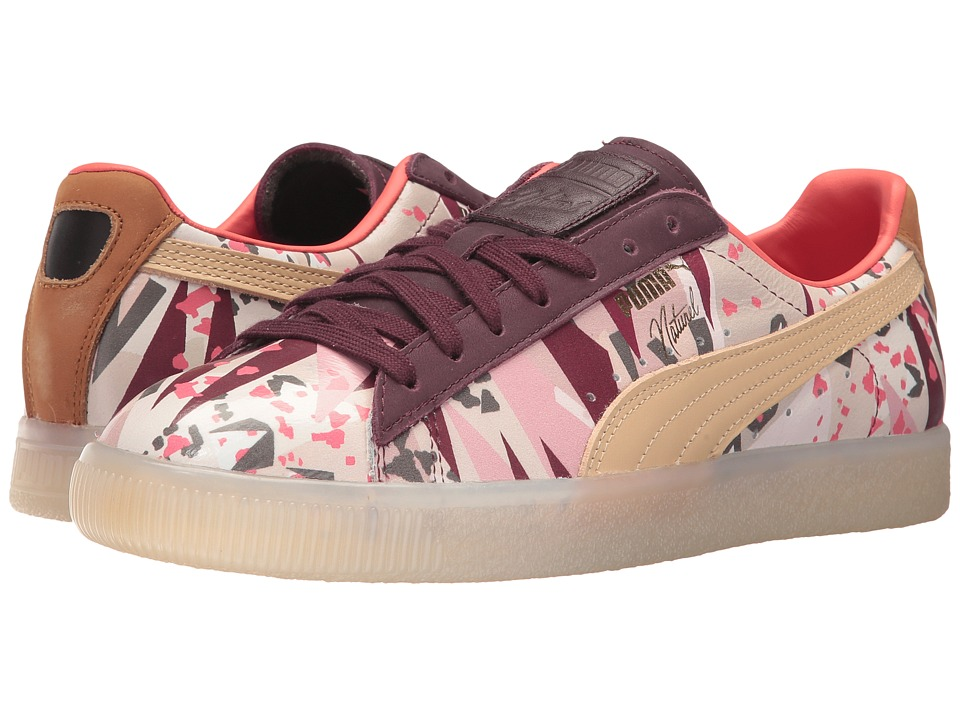 PUMA - Puma x Naturel Clyde Moon Desert Sneaker (Winetasting/Natural) Shoes