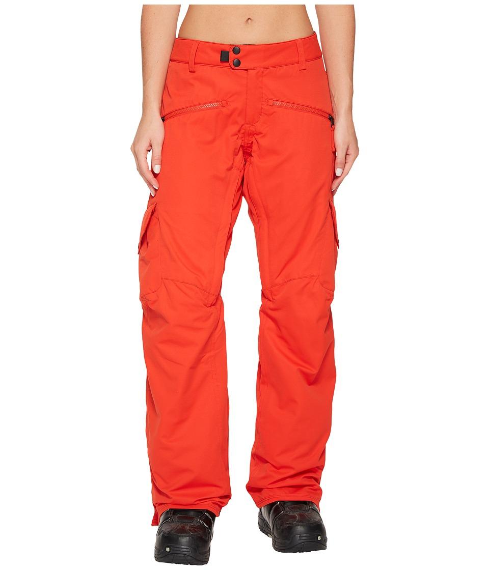 686 Mistress Insulated Cargo Pants (Lava) Women