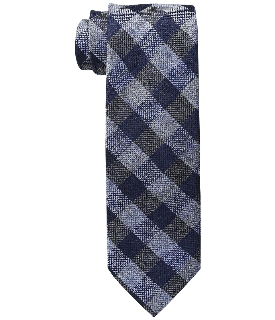Tommy Hilfiger - SS Buffalo Check (Blue) Ties