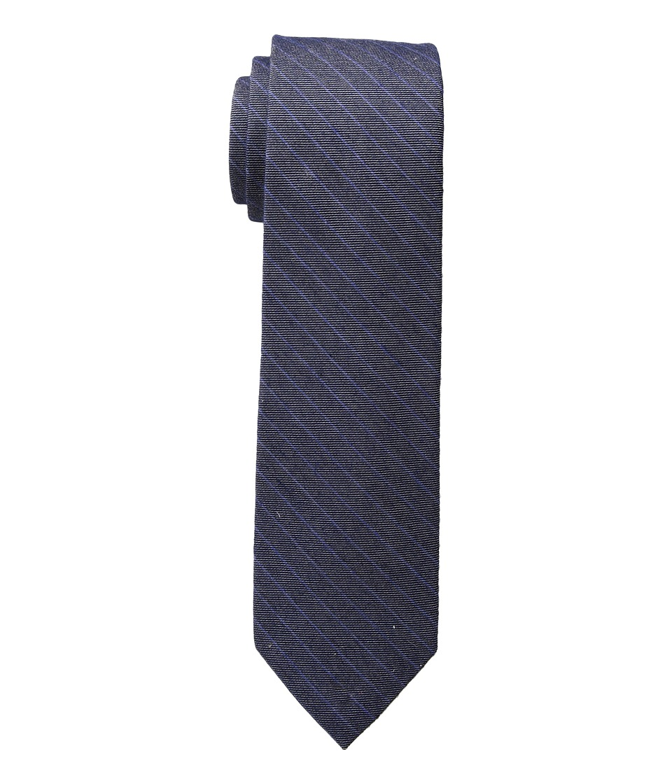 Calvin Klein - Deep Denim Stripe (Indigo) Ties