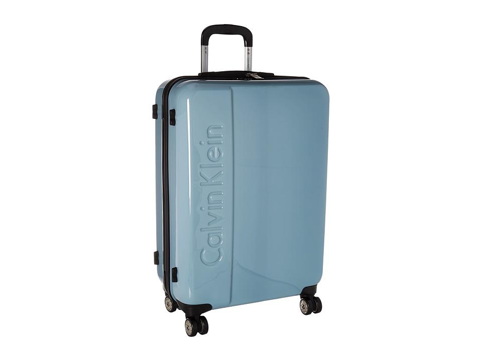 Calvin Klein - Manhattan 2.0 25 Hardside Spinner (Blue Steel) Luggage
