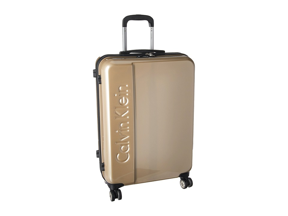 Calvin Klein - Manhattan 2.0 25 Hardside Spinner (Champagne) Luggage