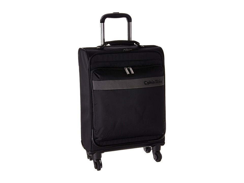 Calvin Klein - Flatiron 3.0 21 Upright Suitcase (Black) Luggage