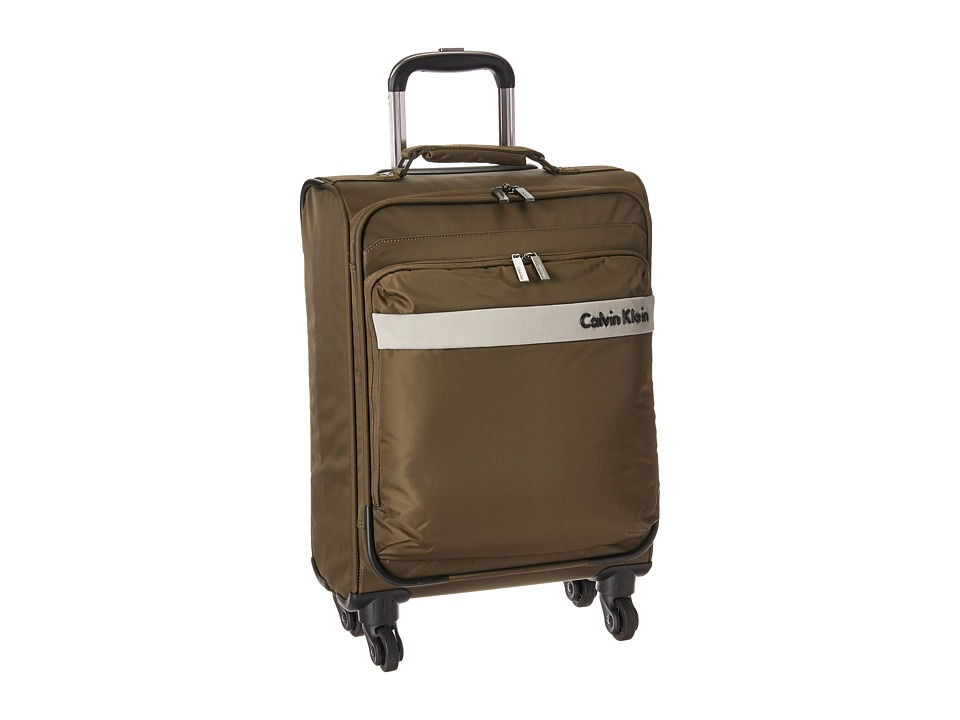Calvin Klein - Flatiron 3.0 21 Upright Suitcase (Brown) Luggage