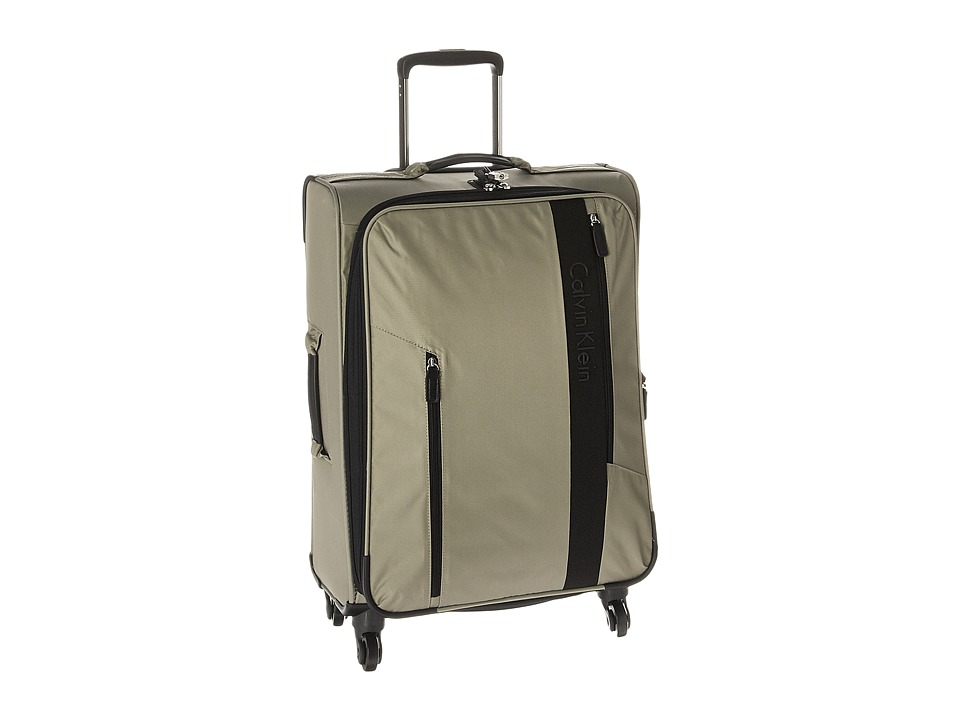 Calvin Klein - Northport 2.0 24 Spinner Upright Suitcase (Beige) Luggage