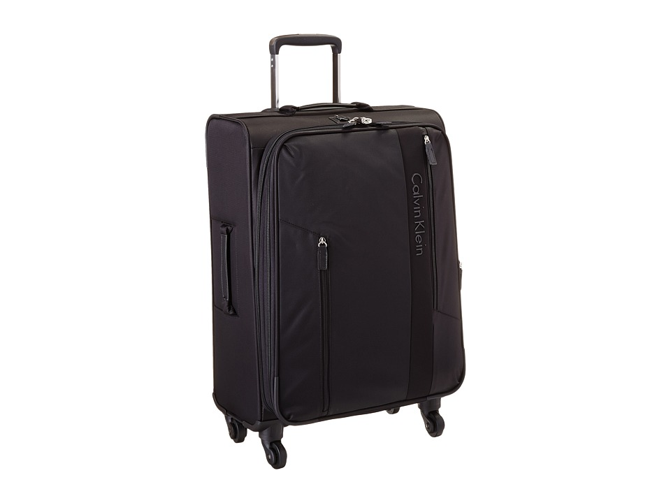 Calvin Klein - Northport 2.0 24 Spinner Upright Suitcase (Black) Luggage