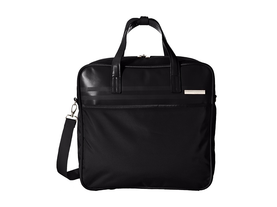 Calvin Klein - Greenwich 2.0 17 Cabin Tote (Black) Tote Handbags