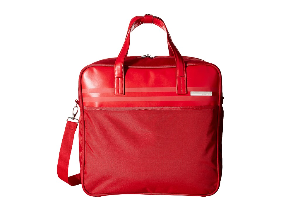Calvin Klein - Greenwich 2.0 17 Cabin Tote (Red) Tote Handbags