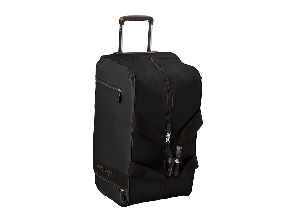 Calvin Klein - Northport 2.0 Large Wheeled Duffel (Black) Duffel Bags
