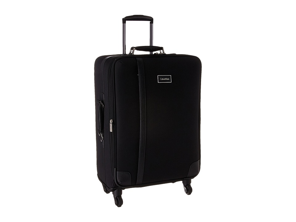 Calvin Klein - Avalon 2.0 25 Upright Suitcase (Noir) Luggage
