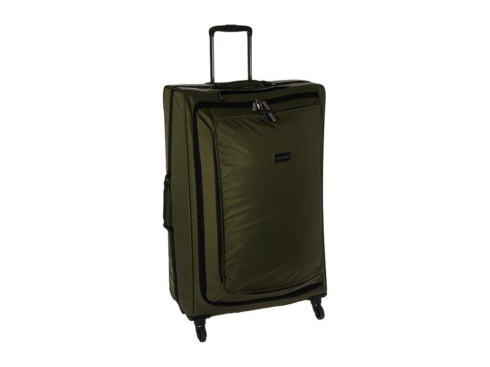Calvin Klein - Flatiron 28 Upright Suitcase (Army Green) Luggage