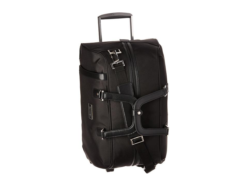 Calvin Klein - Avalon 2.0 Small Wheeled Duffel (Noir) Duffel Bags