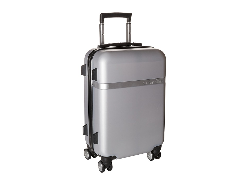 Calvin Klein - Libertad 2.0 20 Expandable Hardside Spinner (Silver) Luggage