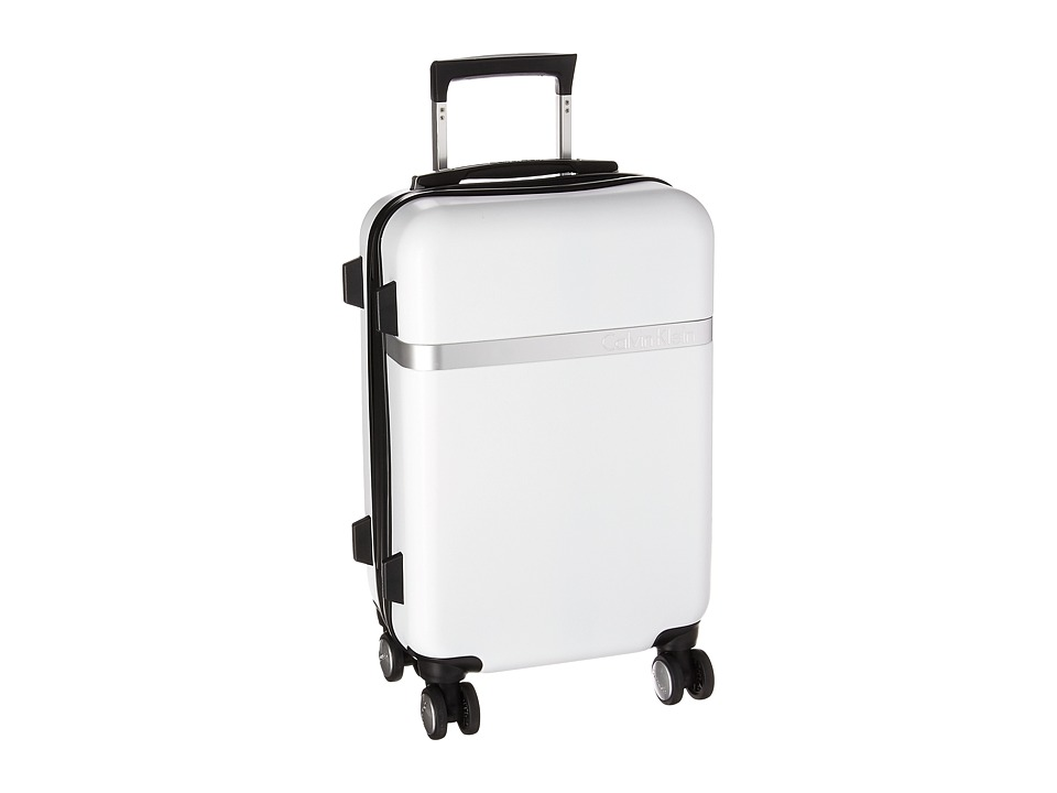 Calvin Klein - Libertad 2.0 20 Expandable Hardside Spinner (White) Luggage