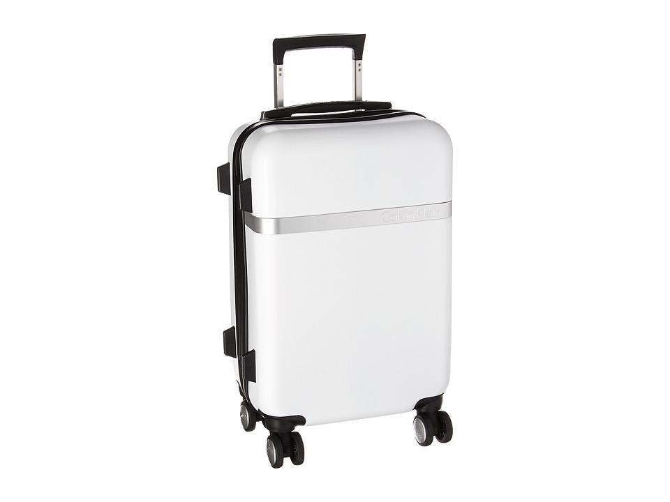 Calvin Klein - Libertad 2.0 20 Expandable Hardside Spinner (White) Luggage