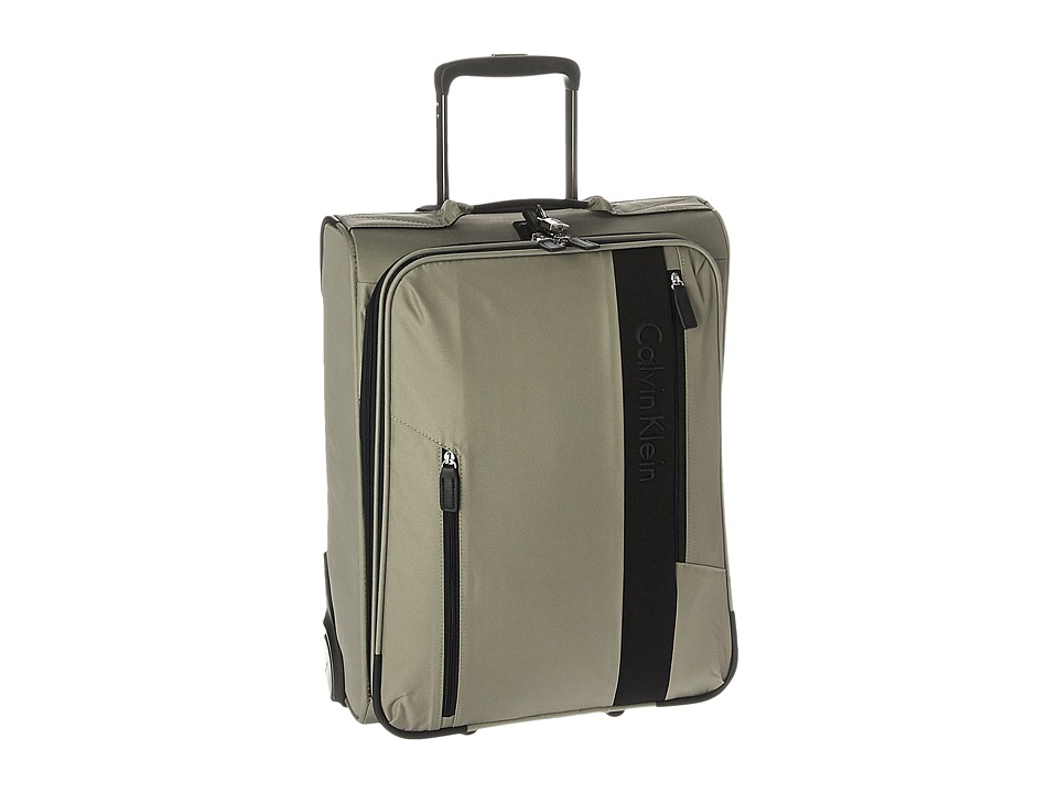 Calvin Klein - Northport 2.0 21 Upright Suitcase (Beige) Luggage