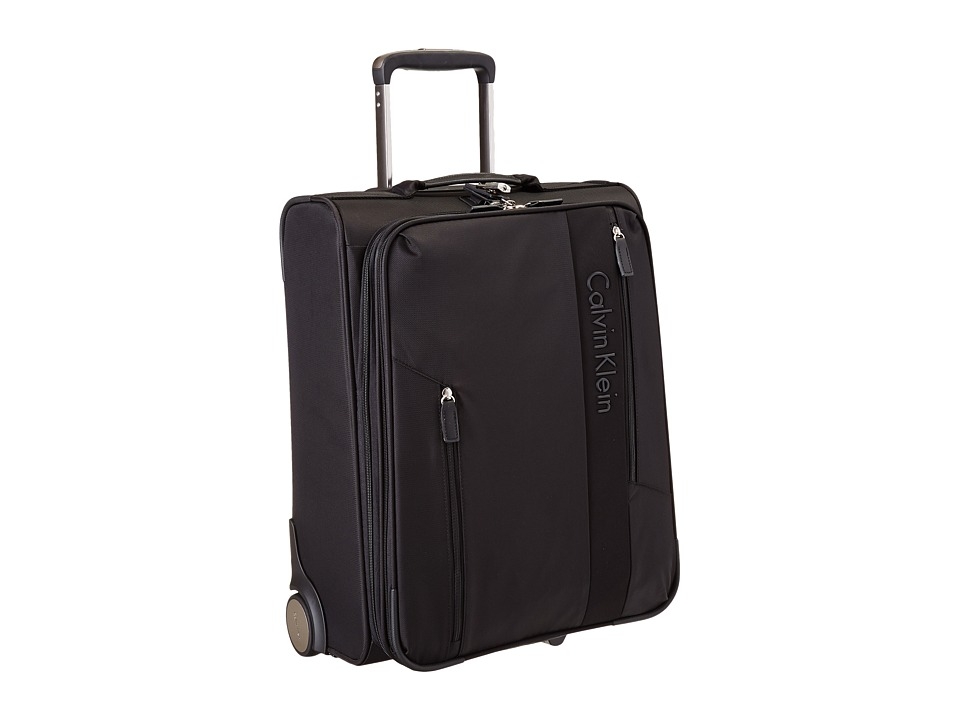 Calvin Klein - Northport 2.0 21 Upright Suitcase (Black) Luggage