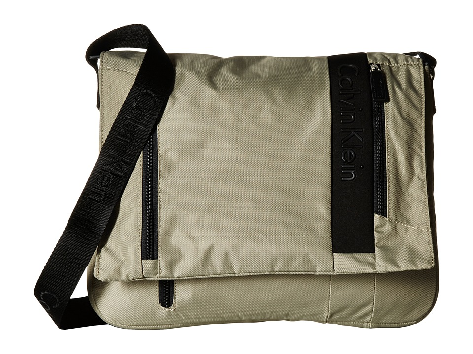 Calvin Klein - Northport 2.0 Messenger (Beige) Messenger Bags