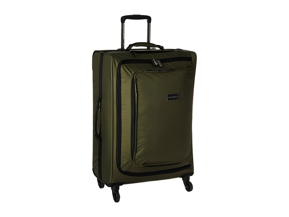 Calvin Klein - Flatiron 24 Upright Suitcase (Army Green) Luggage