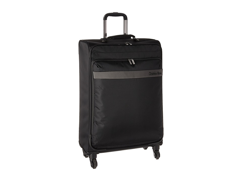 Calvin Klein - Flatiron 3.0 25 Upright Suitcase (Black) Luggage