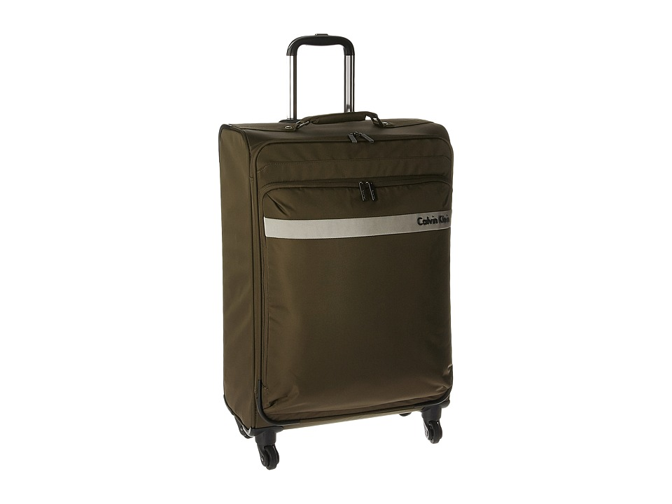 Calvin Klein - Flatiron 3.0 25 Upright Suitcase (Brown) Luggage