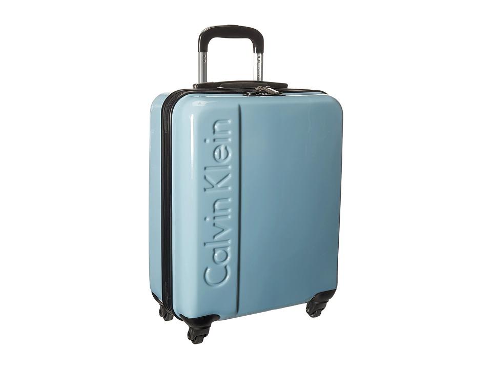 Calvin Klein - Manhattan 2.0 21 Hardside Spinner (Blue Steel) Luggage