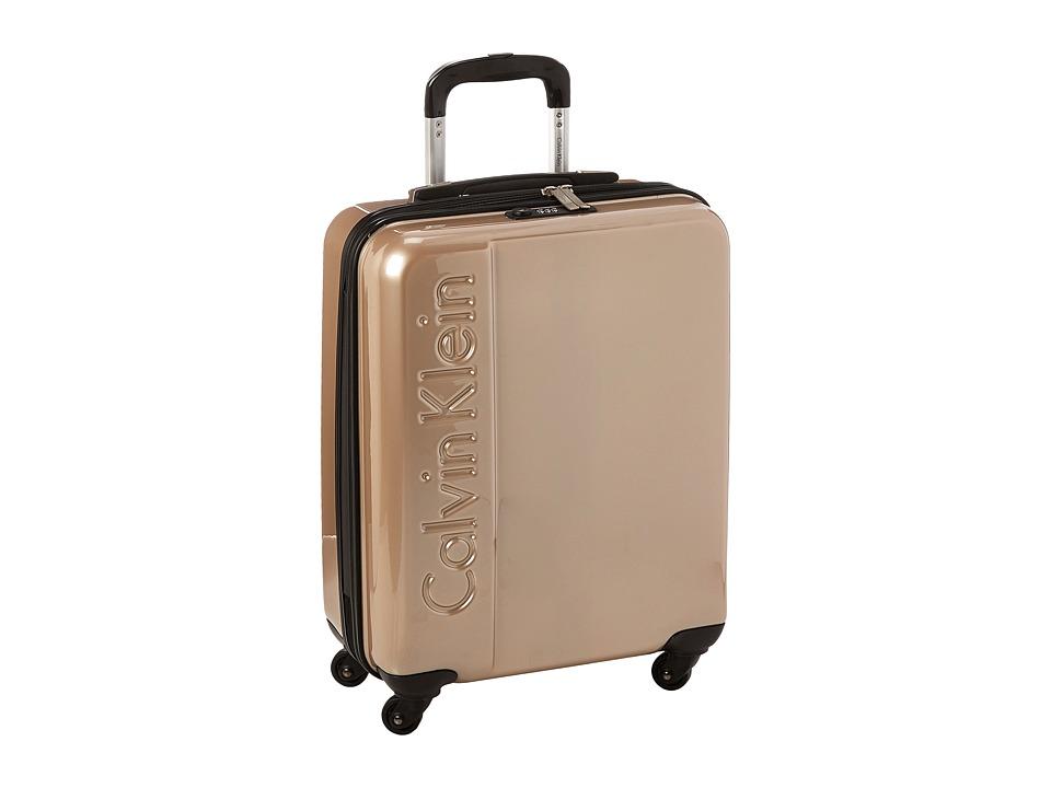 Calvin Klein - Manhattan 2.0 21 Hardside Spinner (Champagne) Luggage